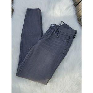 J. Crew High Waisted Skinny Jeans